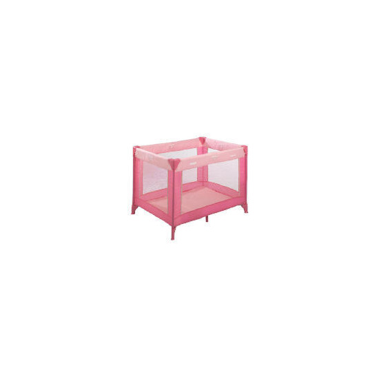 Hauck Travel Cot Pink