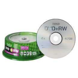 Tesco DVD+RW 25Pk Reviews