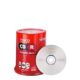 Tesco CD-R 100Pk Reviews