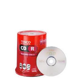 Tesco CD-R 100Pk Reviews