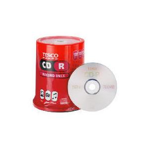 Photo of Tesco CD-R 100PK CD R