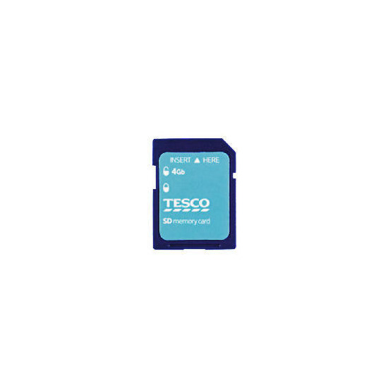 Tesco 4GB SD Card