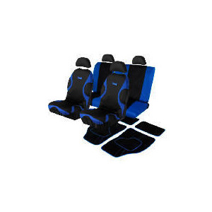 Photo of Energy Seat Covers With Blue Mats Car Accessory