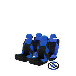 Concept Blue Set - Seatcovers, Steering Wheel Cover, Shoulder Pads Reviews