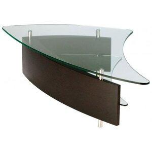Photo of BDI Fin Espresso Stained Oak Coffee Table Furniture