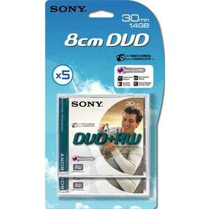Photo of Sony DVD+RW 5P DVD RW