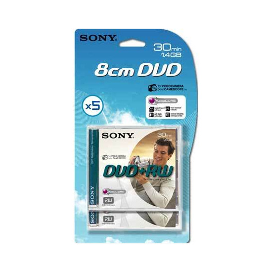 Sony Dvd+rw 5p