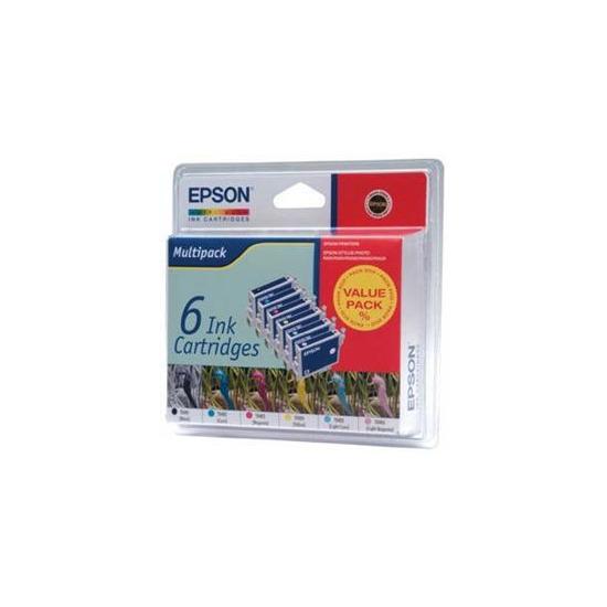 Eps T048 Six Pk Epson T048 Six Pack