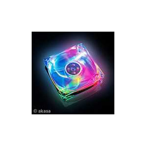 Photo of AKASA PC Case Fan 4 Colour LED CD and DVD Storage