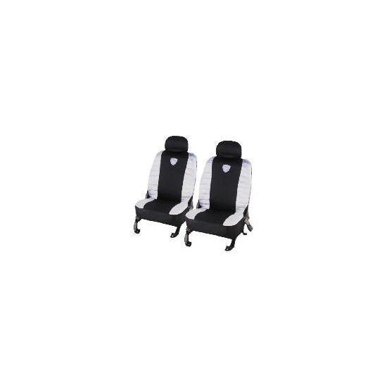 Turbo Seat Covers Black/Grey