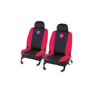 Photo of Turbo Seat Covers Black/Red Car Accessory