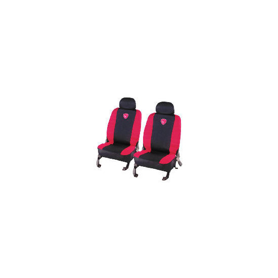 Turbo Seat Covers Black/Red