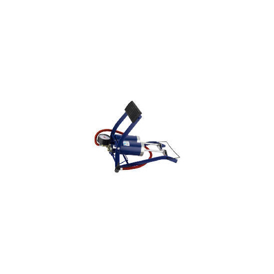 Eq688 - Twin Valve Footpump With Gauge