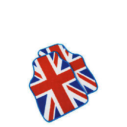 Premium Red, White  And Blue Union Jack Car Mat Reviews