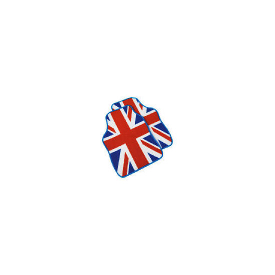 Premium Red, White  And Blue Union Jack Car Mat