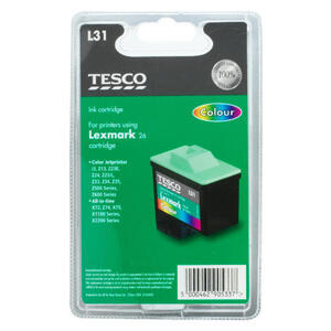 Photo of Tesco L31 Colour Ink Ink Cartridge