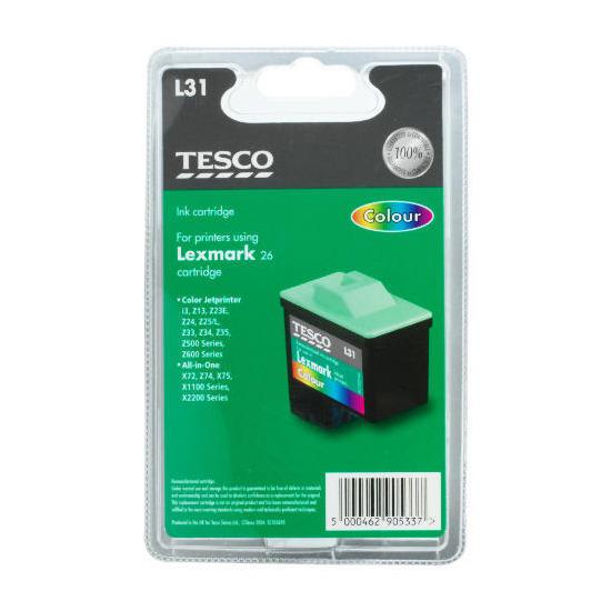 Tesco L31 colour ink