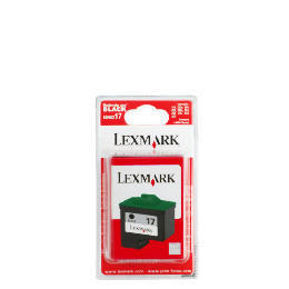 Lexmark 17 black ink Reviews
