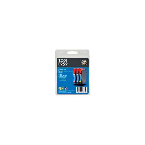 Tesco E252 multipack ink