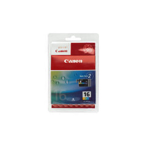 Photo of Canon BCI-16 Colour Ink Twin Pack Ink Cartridge