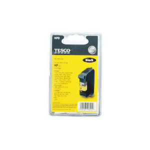 Photo of Tesco H70 Remnaufactured Black Ink Ink Cartridge