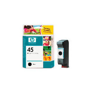 Photo of HP 45 Black Ink Ink Cartridge
