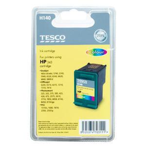 Photo of Tesco H140 Colour Ink Cartridge