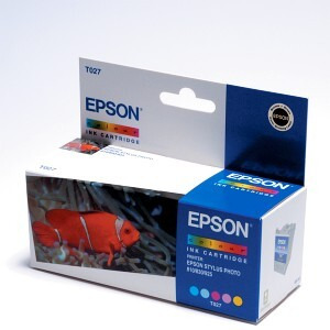 Photo of Epson T027 Colour Ink Ink Cartridge
