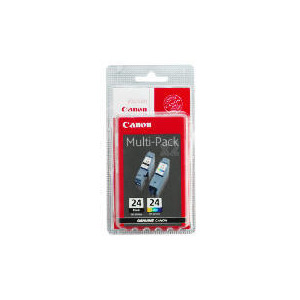 Photo of Canon BCI-24BK Black & Colour Ink Ink Cartridge