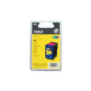 Photo of Tesco H50 Remanufactured Colour Ink Ink Cartridge