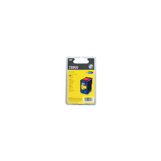 Tesco H50 remanufactured colour ink