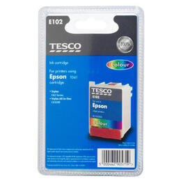 Tesco E102 colour ink Reviews