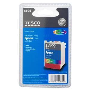Photo of Tesco E102 Colour Ink Ink Cartridge