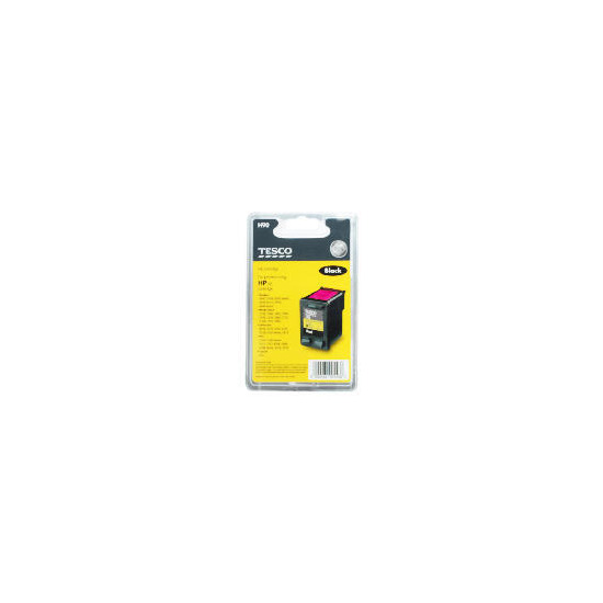 Tesco H90 remanufactured black ink