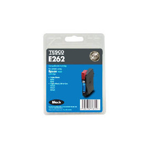Photo of Tesco E262 Black Ink Ink Cartridge