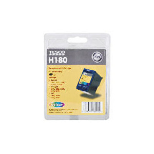 Photo of Tesco H180 Remanufactured Colour Ink Ink Cartridge
