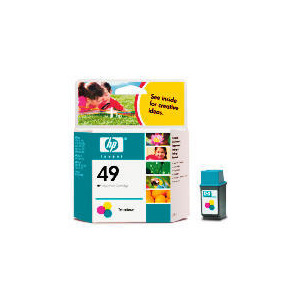 Photo of HP 49 Colour Ink Ink Cartridge