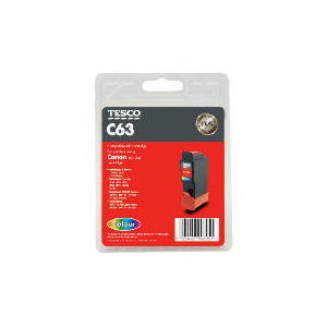Photo of Tesco C63 Colour Ink Ink Cartridge