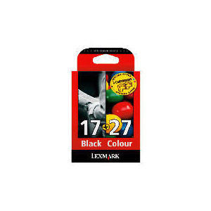 Photo of Lexmark 17 & 27 Multipack Ink Ink Cartridge