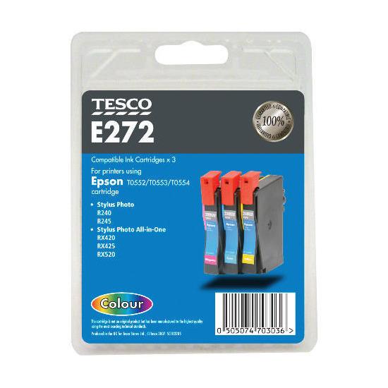 Tesco E272 multipack ink