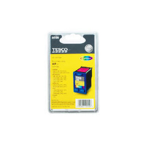 Photo of Tesco H100 Remanufactured Colour Ink Ink Cartridge