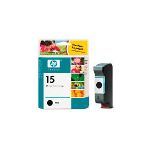 Photo of HP 15 Black Ink Ink Cartridge