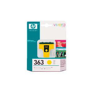 Photo of HP 363 Yellow Ink Cartridge