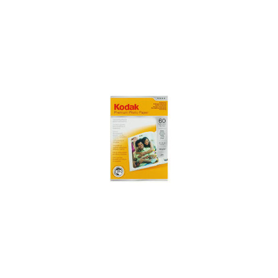Kodak 6x4 premium photo paper 60 sheets