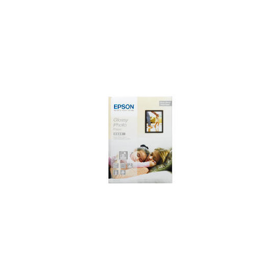 Epson A4 glossy photo paper 20 sheets