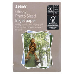 Tesco 6x4 photo paper 50 sheets Reviews