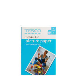 Tesco A4 genreal use matte photo paper 100 sheets Reviews