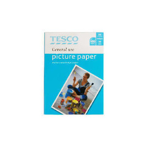 Photo of Tesco A4 Genreal Use Matte Photo Paper 100 Sheets Photo Paper