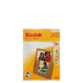 Kodak A4 photo paper 50 sheets Reviews