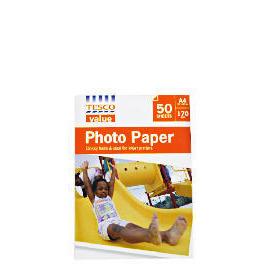 Tesco Value A4 photo paper 50 sheets Reviews
